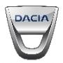 Piece carrosserie pour Dacia
