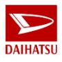 Piece carrosserie pour Daihatsu