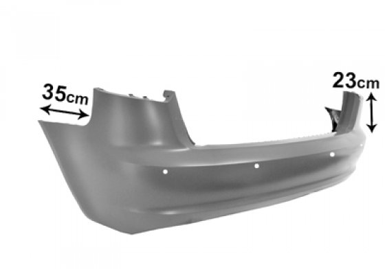 carrosserie et pare chocs arriere pour audi a3 05 2008 05 2012 achat vente sur mondial piece. Black Bedroom Furniture Sets. Home Design Ideas