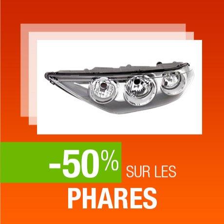 -50% sur les phares